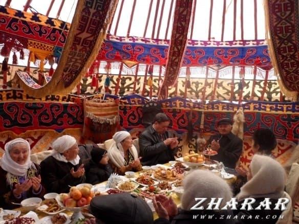 Қазақша шығарма: Дастархан казакша Қазақша шығарма: Дастархан на казахском языке