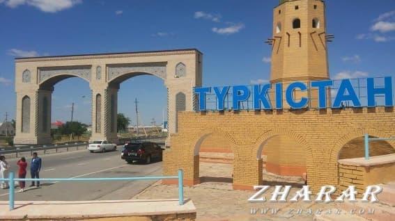 Қазақша шығарма: Түркістан қаласы