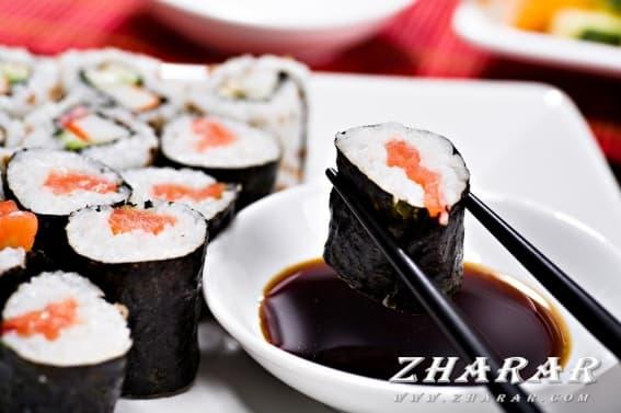 Суши қалай жеу керек?