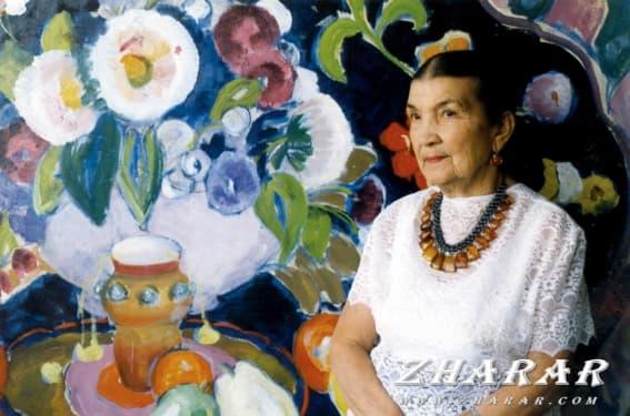 Қазақша реферат: Айша Ғарифқызы Ғалымбаева (1917 - 2008)