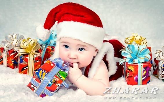 Детские стихи: Новый год (2-3 лет)