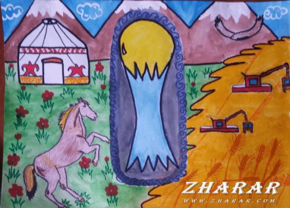 Сочинение: Моя Земля, Земля моих отцов… казакша Сочинение: Моя Земля, Земля моих отцов… на казахском языке