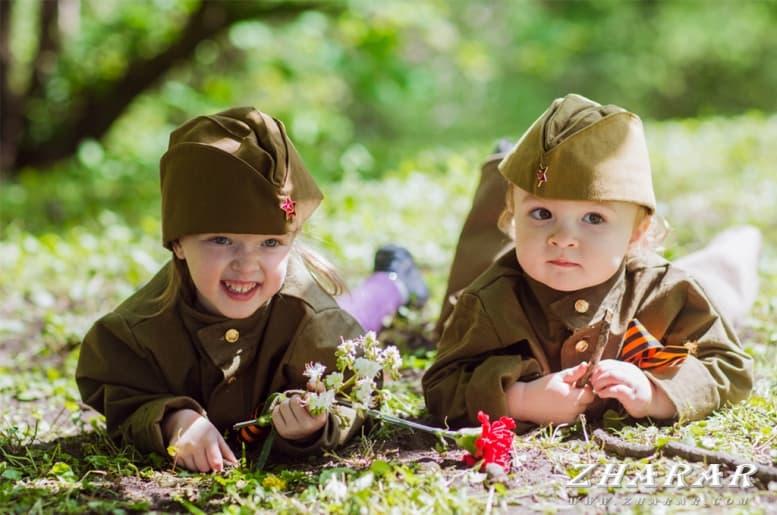 Детские стихи: 9 мая - День победы казакша Детские стихи: 9 мая - День победы на казахском языке
