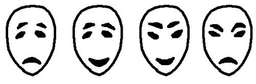Қазақ тілінен сабақ жоспары: Көңіл-күй (1 сынып, 1 бөлім )