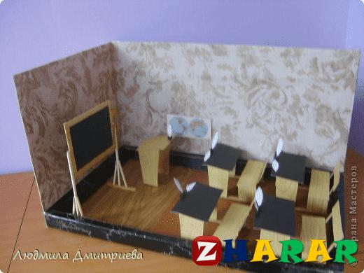 Қазақ тілінен сабақ жоспары: Сынып бөлмесінің үлгісі №2 (1 сынып, 2 бөлім )
