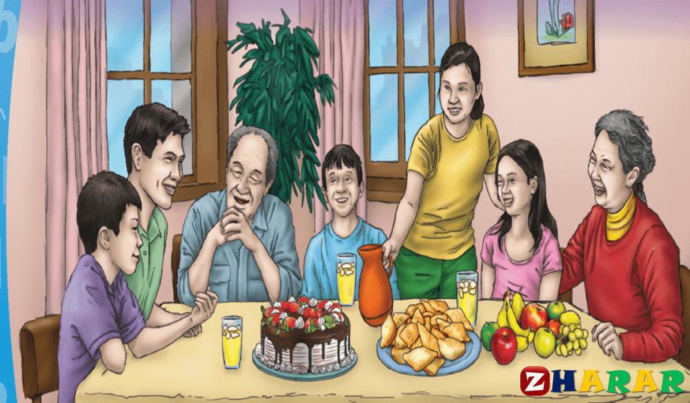 Қазақ тілінен сабақ жоспары: Менің отбасым №3 (1 сынып, 3 бөлім )