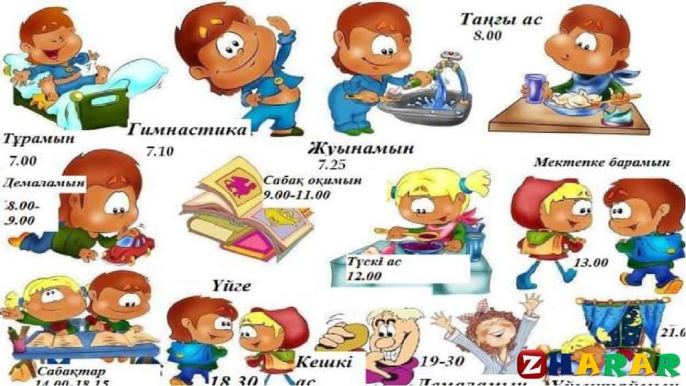 Қазақ тілінен сабақ жоспары: Салауатты өмір салты Спорт және тағам (5 сынып, III тоқсан, 1 бөлім )