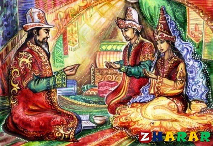 Қазақ тілінен сабақ жоспары: Мазмұнын айта аламын Төлебидің батасы (2 сынып, III тоқсан )