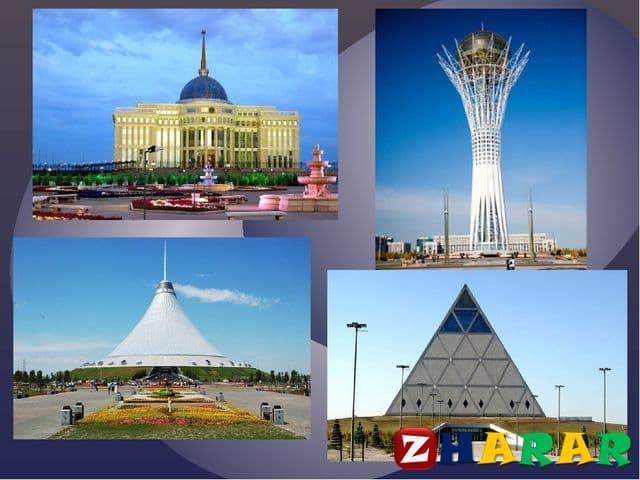 Қазақ тілінен сабақ жоспары: Астананың көрікті жерлері (2-нұсқа) (6 сынып, II тоқсан )
