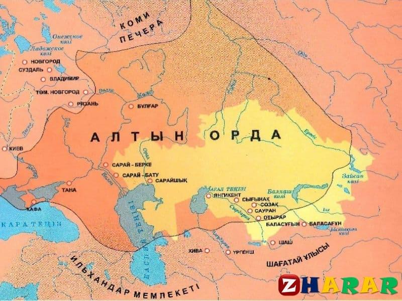 Қазақ тілінен сабақ жоспары: Алтын орда мұрагері (6 сынып, II тоқсан )