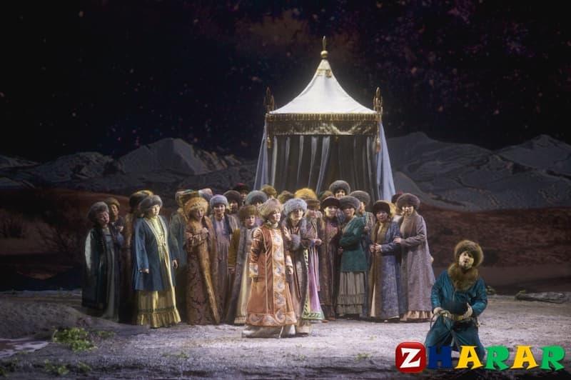 Қазақ тілінен сабақ жоспары: Эпостық спектакльдер (8 сынып, IV тоқсан )
