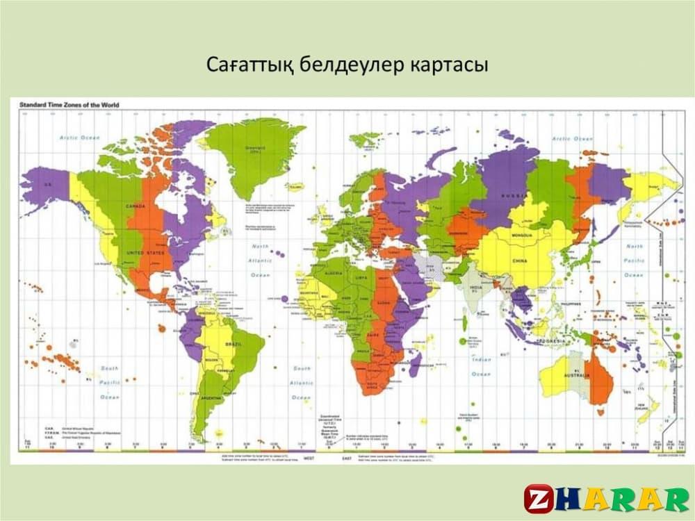 Географиядан сабақ жоспары: Географиялық номенклатура (8 сынып, I тоқсан)
