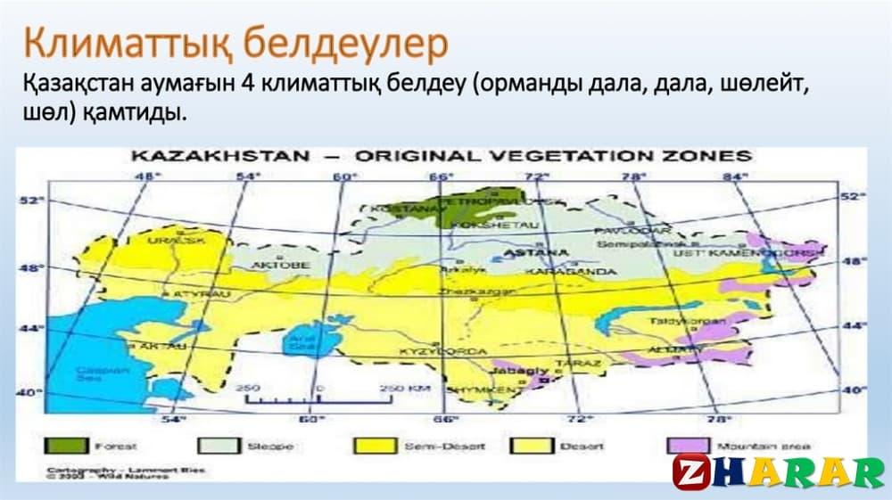 Географиядан сабақ жоспары: Қазақстанның климаттық жағдайы №1 (9 сынып, II тоқсан)